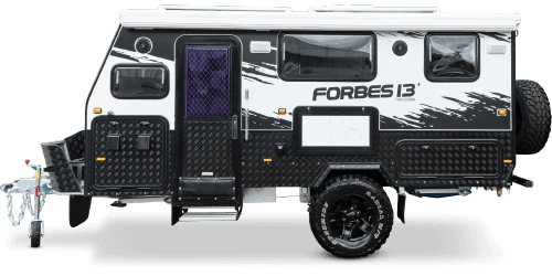 Off Road Caravan  Forbes 13+