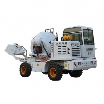 Self Loading Concrete Mixer 4 M3