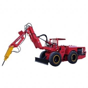 Underground Mobile Rock Breaker Machine