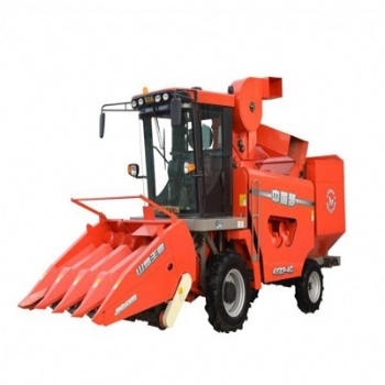 4 Row Corn Harvesting Machine